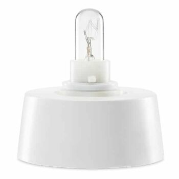 2-Pin EU Plug Scentsy Ceramic Mini Warmer Tabletop Base