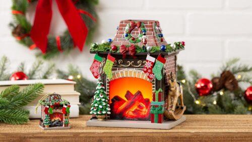 Christmas Hearth Scentsy UK Warmer