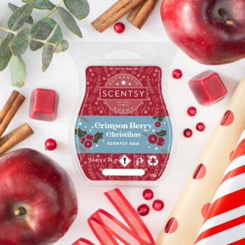 Crimson Berry Christmas Scentsy UK Wax Bar