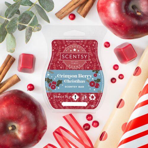 Crimson Berry Christmas Scentsy UK Wax Bar