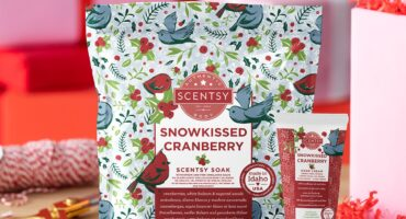 Holiday Body Bundle – Snowkissed Cranberry fragrance