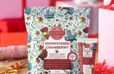Holiday Body Bundle – Snowkissed Cranberry fragrance