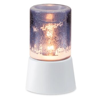To All a Good Night Scentsy Mini Warmer with tabletop base