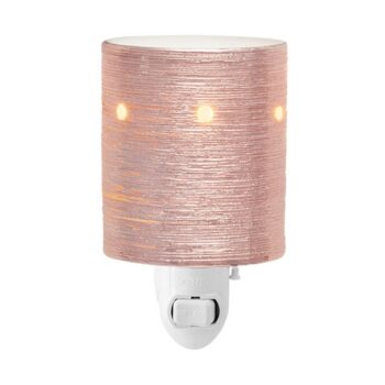 Etched Core Rose Gold Mini Scentsy Plugin Warmer