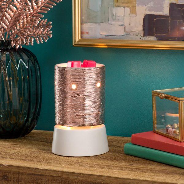 Etched Core – Rose Gold Mini Warmer