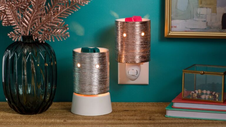 Metallic Etched Core Mini Warmer Collection available 4 January