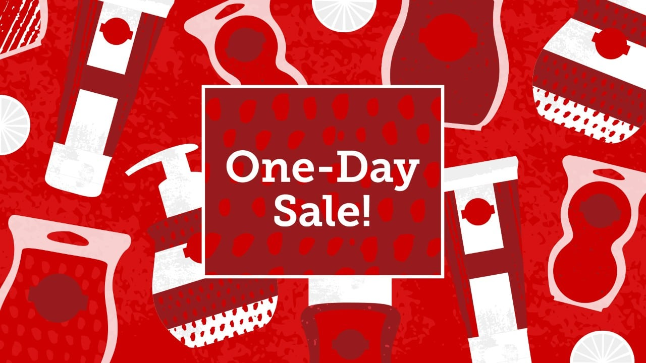 Scentsy One-day clearance sale