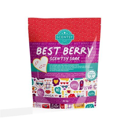 Best Berry Scentsy Soak