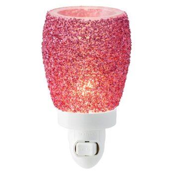 Glitter Magenta Scentsy Plugin Mini Warmer