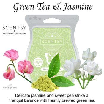 Green Tea & Jasmine Scentsy Bar