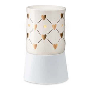 Love Connection Scentsy Mini Warmer With Tabletop Base