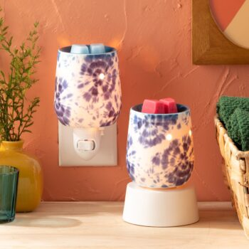 Tie Dye Scentsy Plugin Mini Warmer