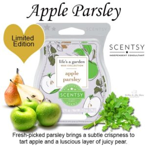 Apple Parsley Scentsy Wax Bar