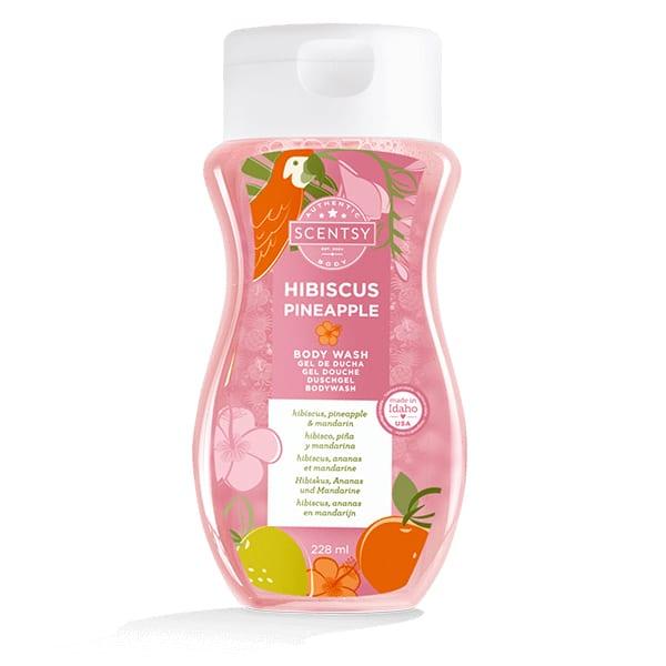 Hibiscus Pineapple Body Wash