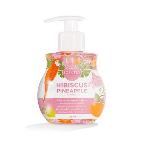 Hibiscus Pineapple Hand Soap