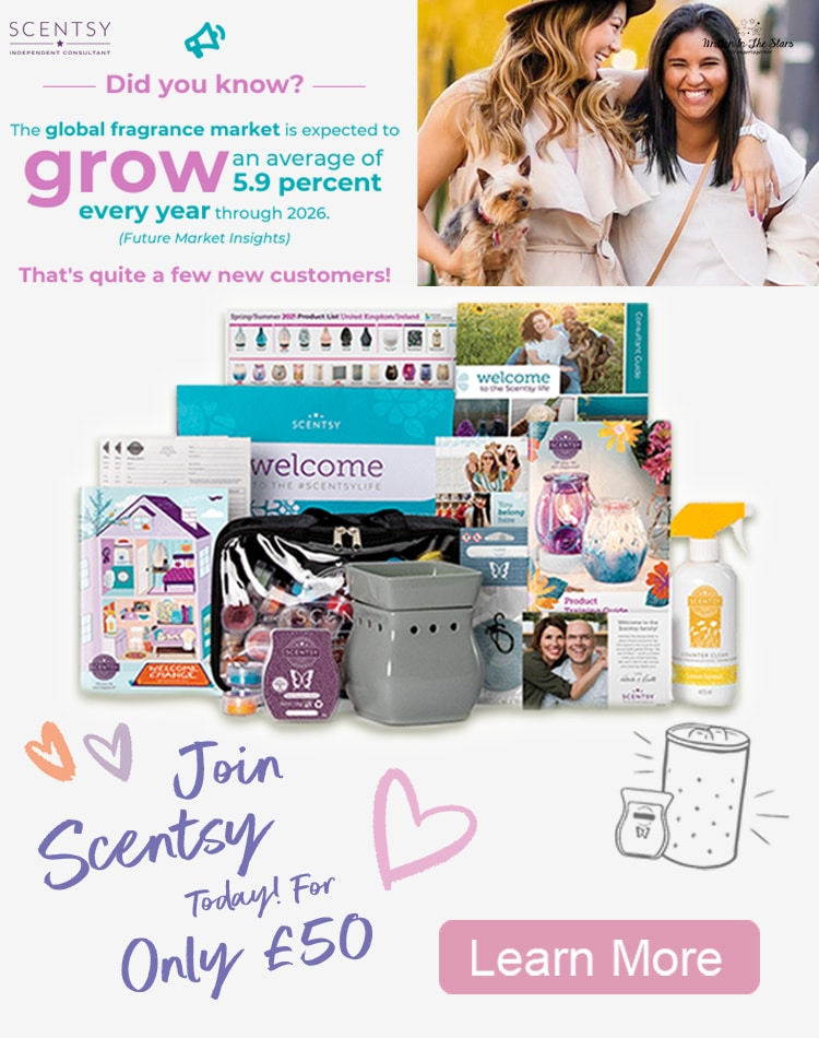 Join Scentsy For Only £50