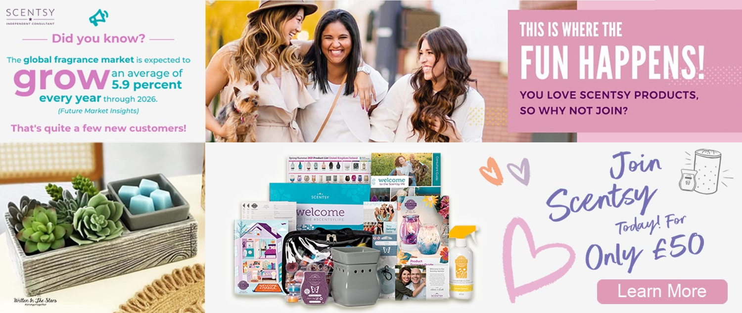 Join Scentsy UK For Only £50