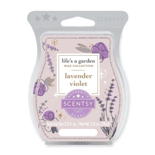Lavender Violet Scentsy Wax Bar