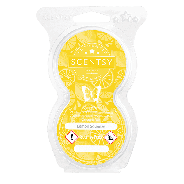Lemon Squeeze Scentsy Pod Twin Pack
