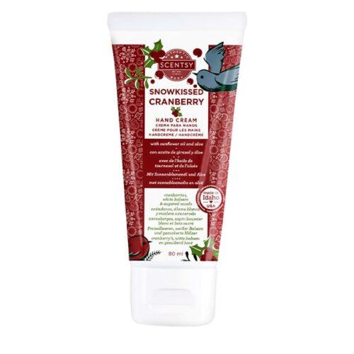 Snowkissed Cranberry Scentsy Hand Cream
