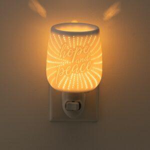 Hope and Peace Scentsy Plugin Mini Warmer