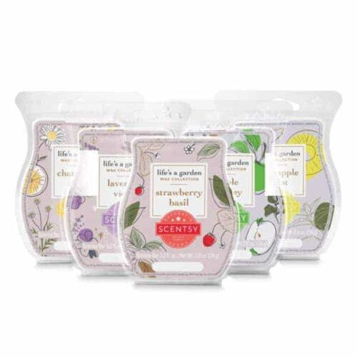 Life's a Garden Scentsy Wax Collection