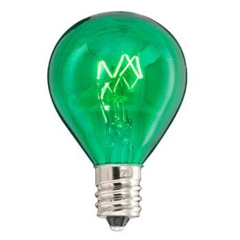 Scentsy 20 Watt Green Light Bulb