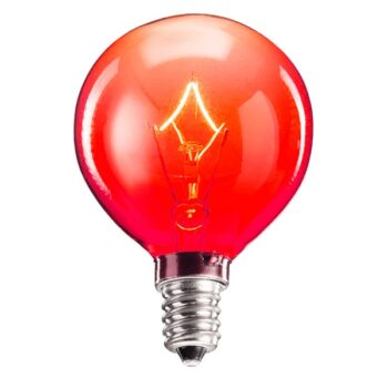 Scentsy 25 Watt Red Light Bulb
