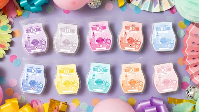 Celebrate 10 years of Scentsy Europe with this 10-bar bundle!