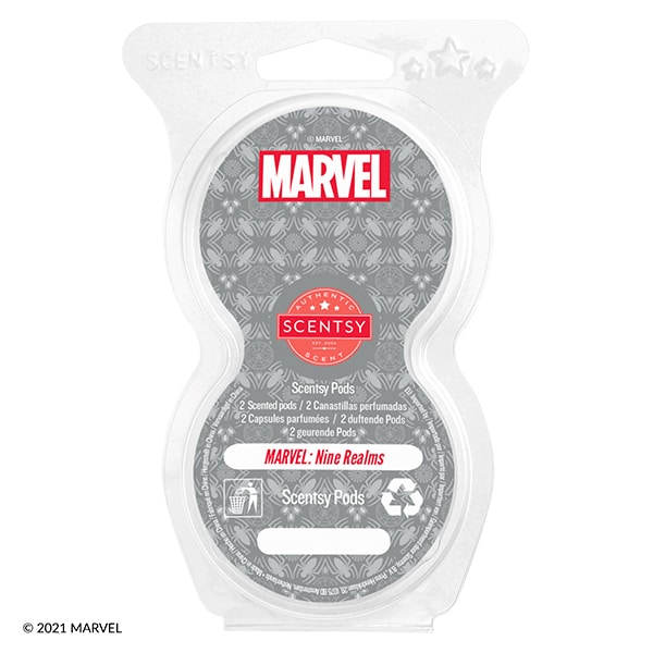 Marvel: Nine Realms – Scentsy Pod Twin Pack