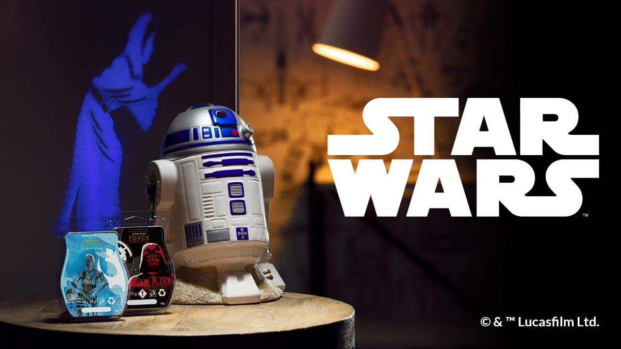 Scentsy R2 D2 Star Wars Warmer