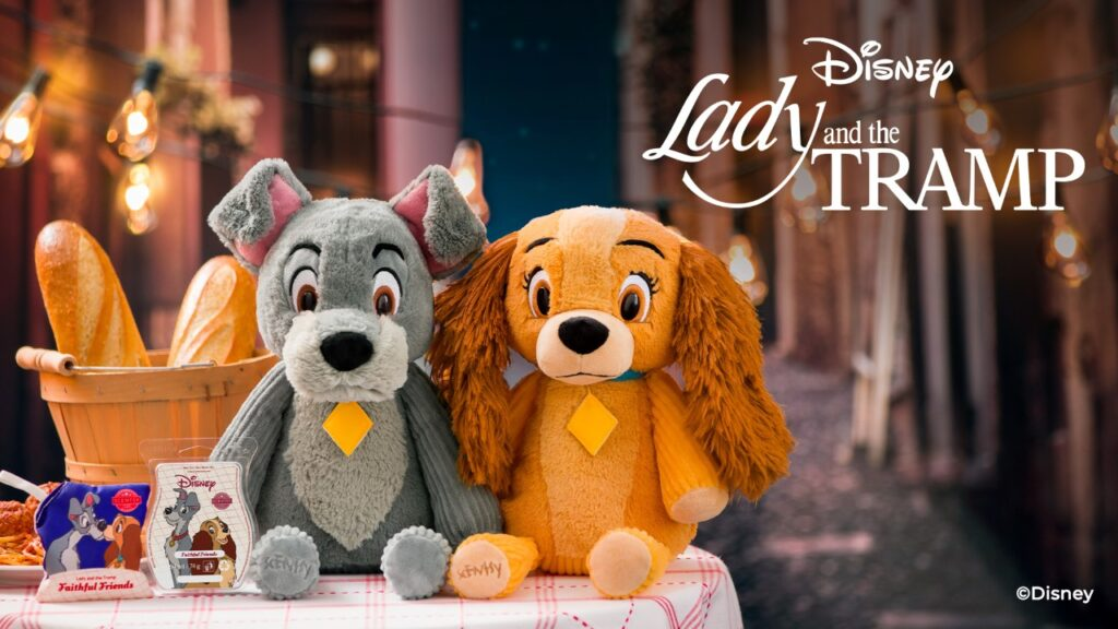 Scentsy UK Lady And The Tramp Disney Collection
