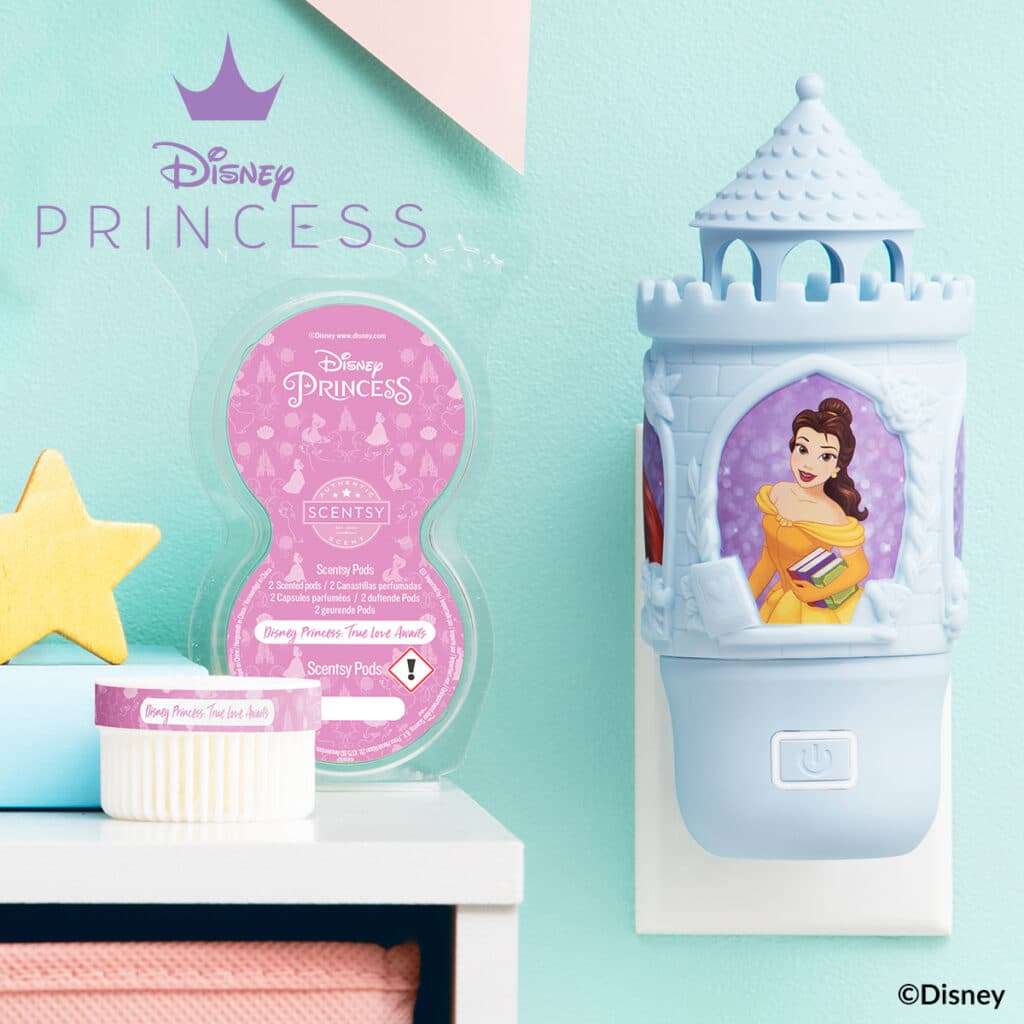 The Disney Collection – Disney Princess Wall Fan Diffuser & Pods