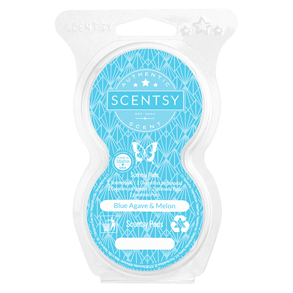 Blue Agave & Melon Scentsy Pods Twin Pack