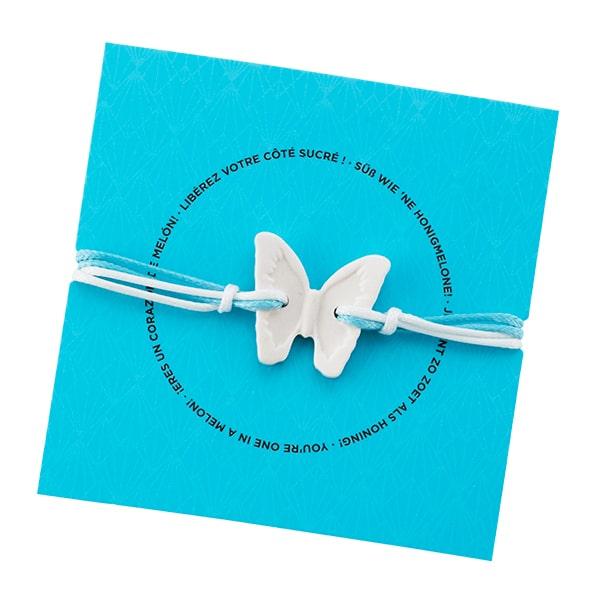 Scented Bracelet – Butterfly Blue Agave & Melon