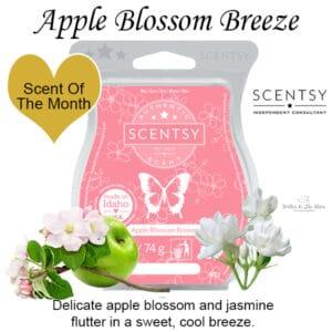 Apple Blossom Breeze Scentsy Bar