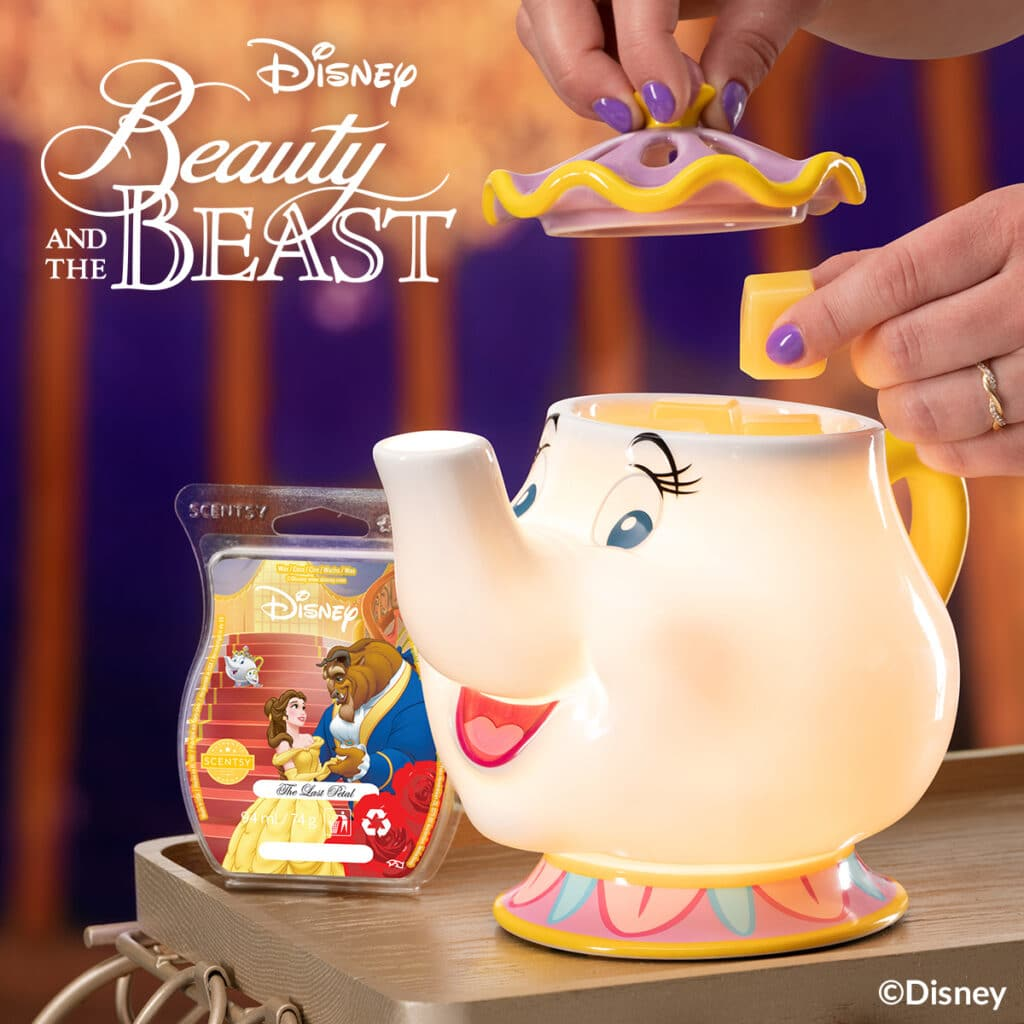 Mrs. Potts Scentsy Warmer With FREE Scentsy Bar