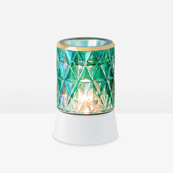 Crowned in Gold Mini Warmer with Tabletop Base