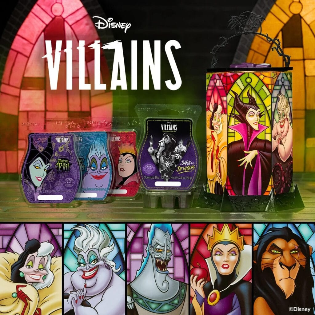 isney Villains: All the Rage - Scentsy Warmer