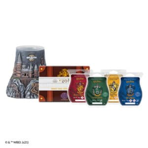 Harry Potter™ Hogwarts – Scentsy Warmer and Hogwarts Houses – Scentsy Wax Collection Bundle
