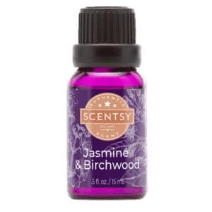 Jasmine & Birchwood Natural Scentsy Oil
