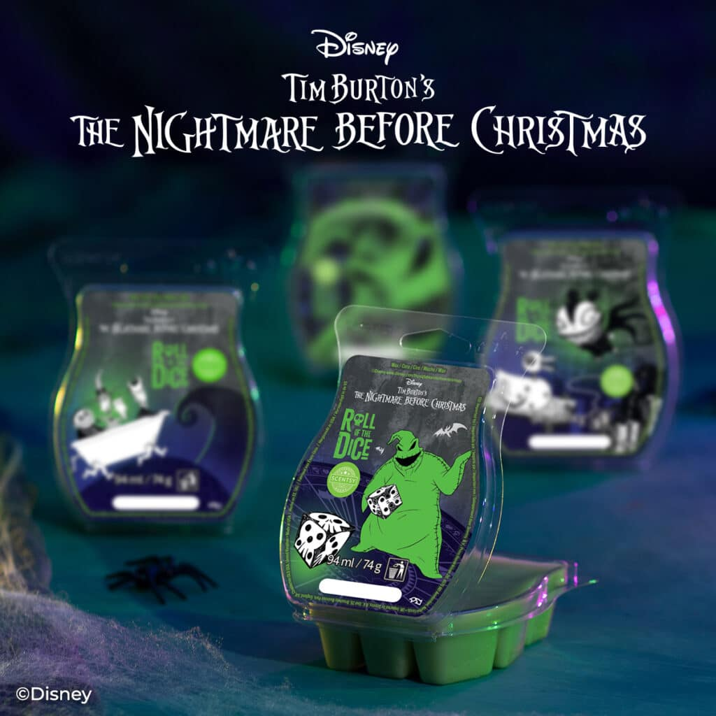 Nightmare Before Christmas Scentsy 4-Bar Pack