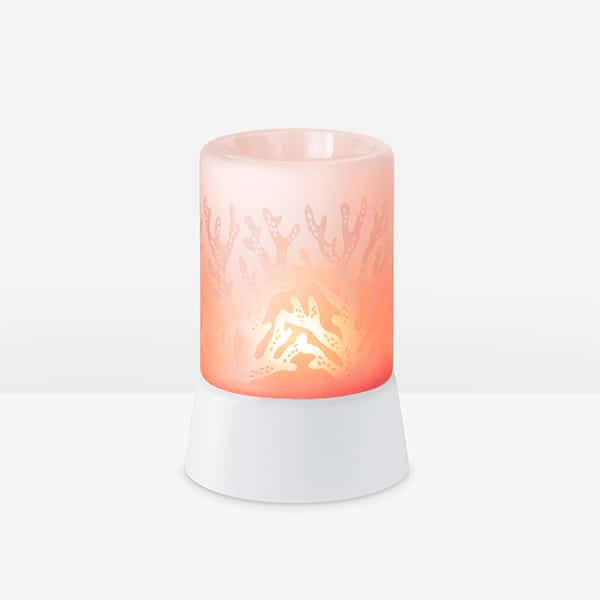 Red Sea Coral Mini Warmer with Tabletop Base