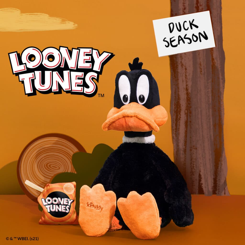 Shop our Bugs Bunny and Daffy Duck Scentsy Buddies