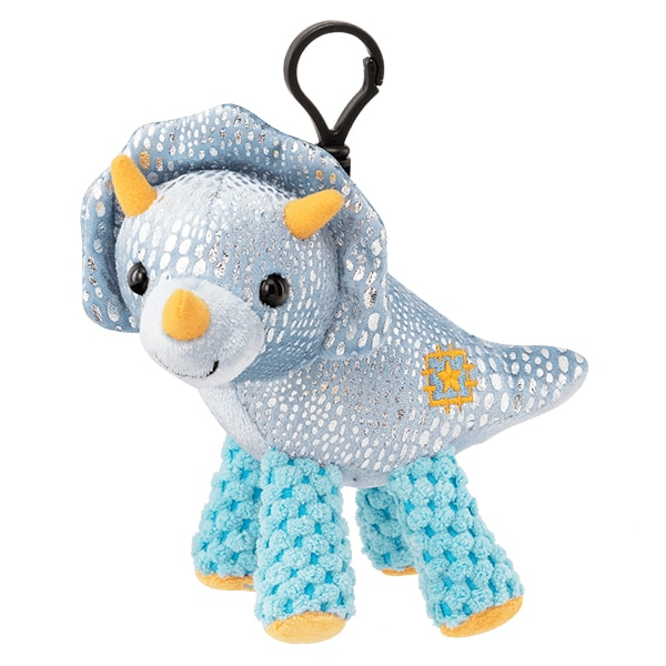 Terra the Triceratops with Tropic Tango Fragrance Buddy Clip