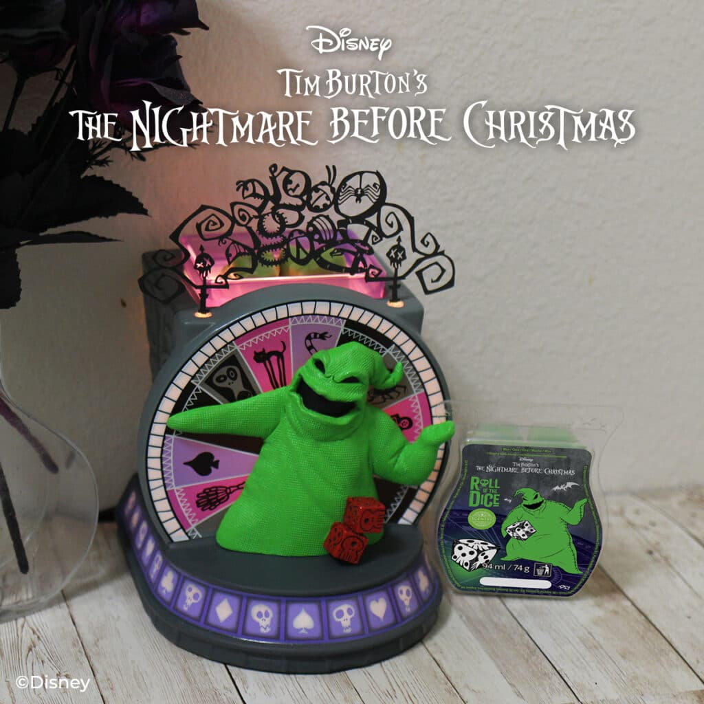 The Nightmare Before Christmas Oogie Boogies Casino Scentsy UK Warmer