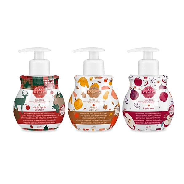 Harvest Hand Soap 3-pack