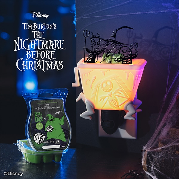 Lock, Shock, and Barrel Scentsy Plugin - The Nightmare Before Christmas