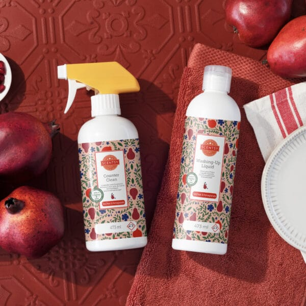 Red Pear & Pomegranate Clean Bundle Styled