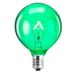 Scentsy 25 Watt Light Bulb - Green